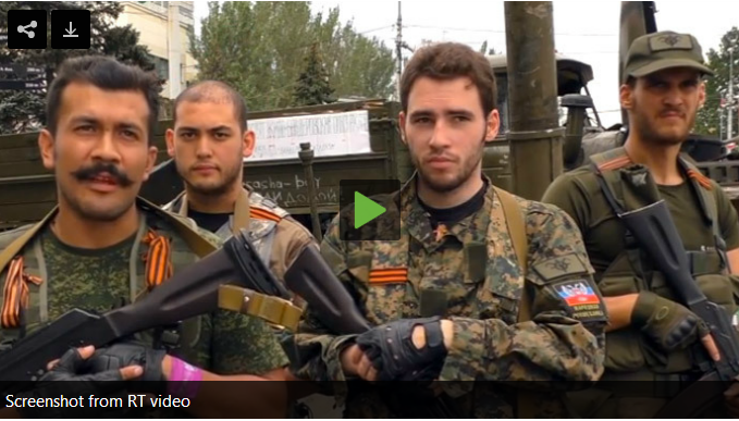 ΟΥΚΡΑΝΙΑ: Ταξιαρχίες Ευρωπαίων πολιτών μάχονται με τους αντιστεκόμενους ενάντια στη Χούντα του Κιέβου
