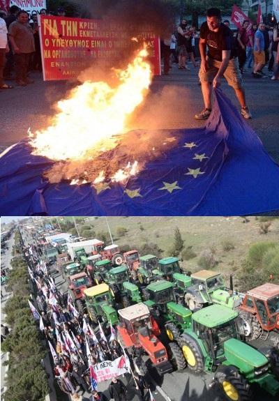 ΚΑΛΕΣΜΑ ΜΕΚΕΑ: Όλοι-Όλες στους δρόμους με σύνθημα «Έξω από την ΕΕ και τα Μνημόνια»