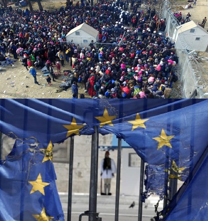 Ανακοίνωση ΜΕΚΕΑ| Προσφυγικό-Μεταναστευτικό: Μόνη λύση για την αποφυγή της Εθνικής και Κοινωνικής μας καταστροφής η έξοδος από την Ευρωπαϊκή Ένωση