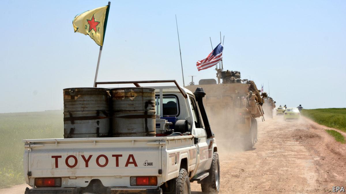 Ανακοίνωση ΜΕΚΕΑ: Οι άθλιοι Κούρδοι εγκαταλείπουν τον αντι-ιμπεριαλιστικό αγώνα για να κάνουν ένα  αμερικανο-σιωνιστικό προτεκτοράτο