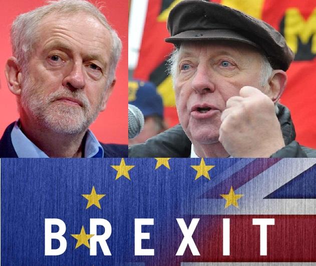 """Η προδοσία του Brexit από τη Βρετανική """"Αριστερά"""" – Παρέμβαση Άρθουρ Σκάργκιλ και Τάκη Φωτόπουλου"""