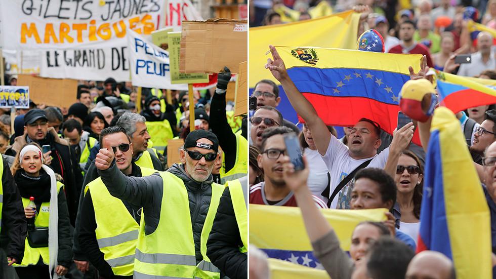 Γαλλία vs Βενεζουέλα: Τα δύο μέτρα και δύο σταθμά της Υπερεθνικής Ελίτ (Neil Clark)