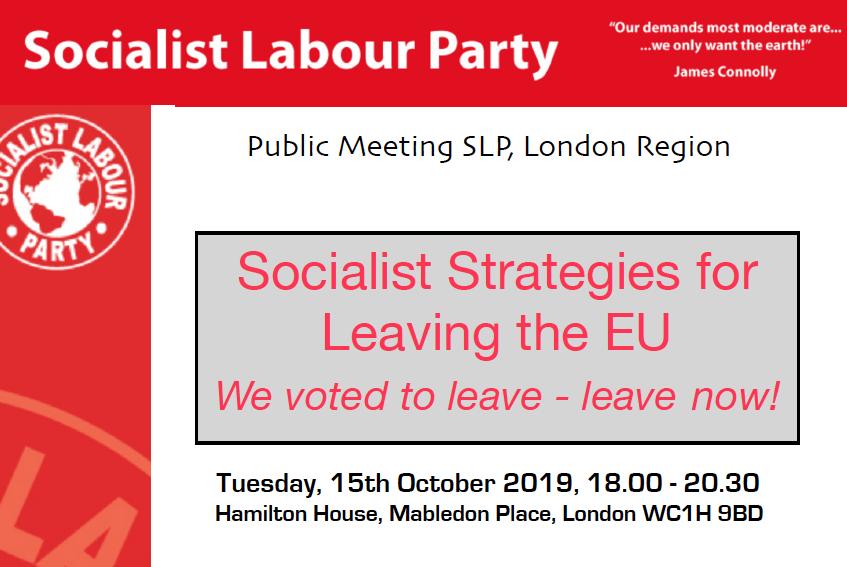 Ο Τάκης Φωτόπουλος και ο Άρθουρ Σκάργκιλ (Arthur Scargill) κεντρικοί ομιλητές σε εκδήλωση του Σοσιαλιστικού Εργατικού Κόμματος της Βρετανίας