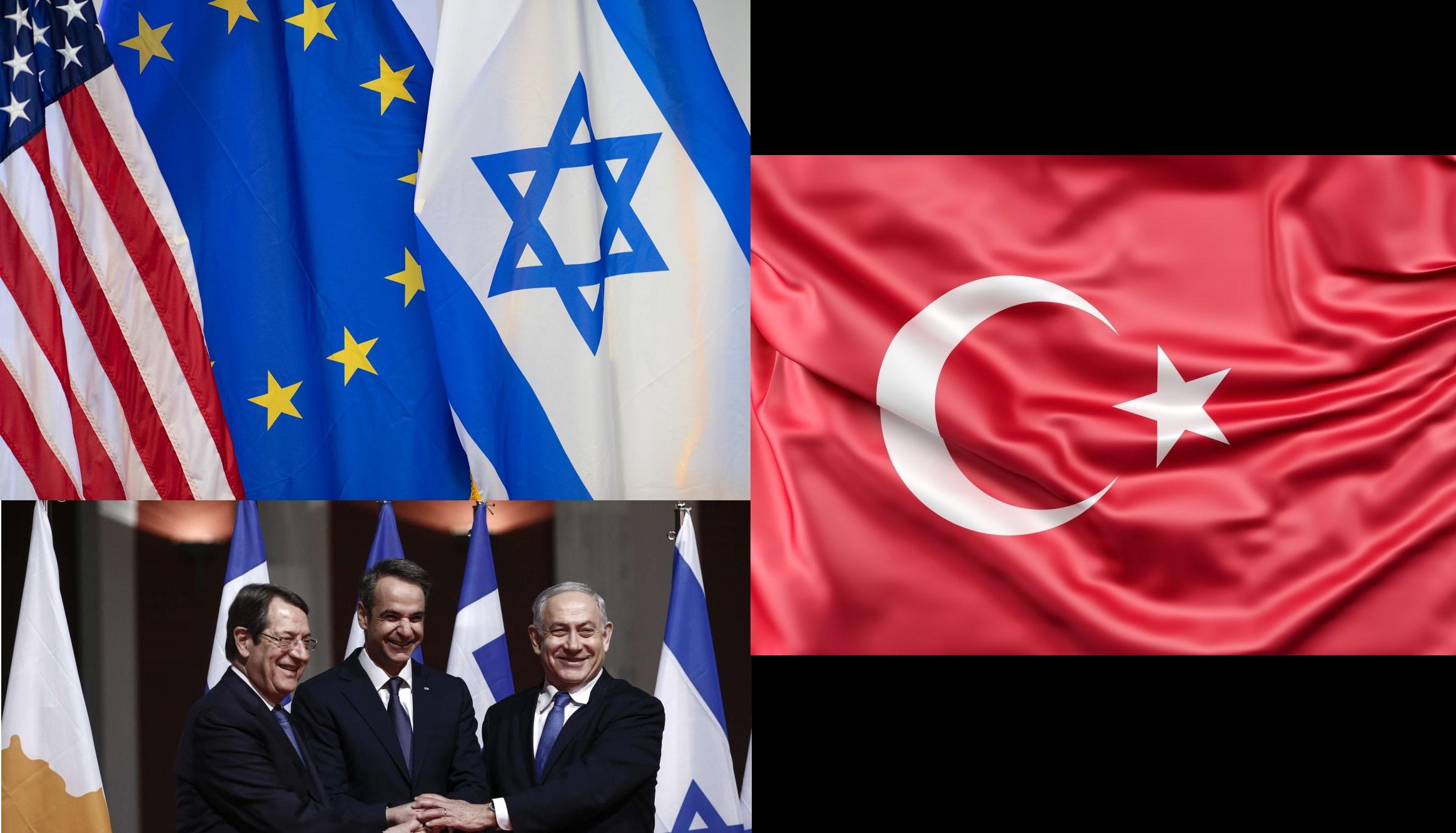 Ανακοίνωση ΜΕΚΕΑ: Η δήθεν διένεξη Ελλάδας-Τουρκίας που στην πραγματικότητα είναι αλληλοφάγωμα των ελίτ για το φυσικό αέριο στην Ευρώπη